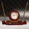 Click this Image to visit the Engraved Clock Pen Desk Sets category.